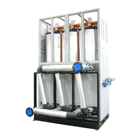 1500 KW Thermal Fluid 280ºC 10Bar 60000Kg per hour