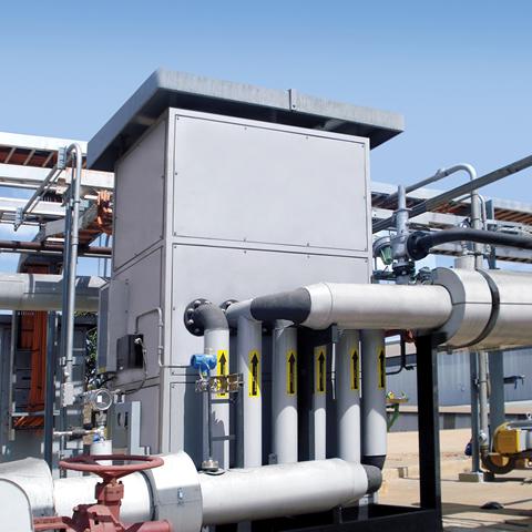 550 KW Fuel Oil 60ºC 90000Kg per hour 7Bar Ex 1