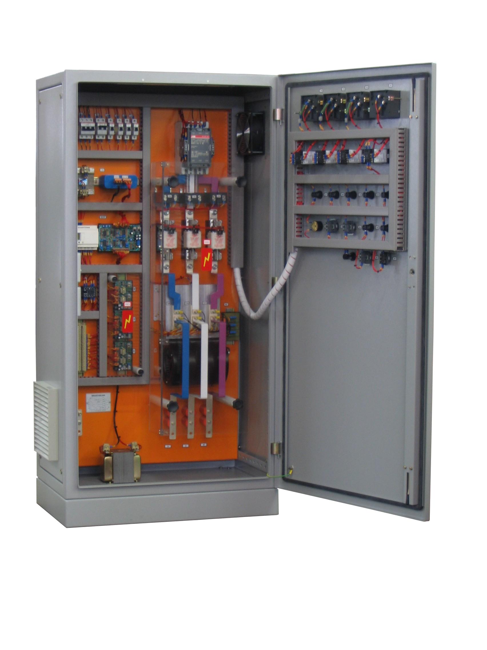 Painel controle tiristorizado 180KW